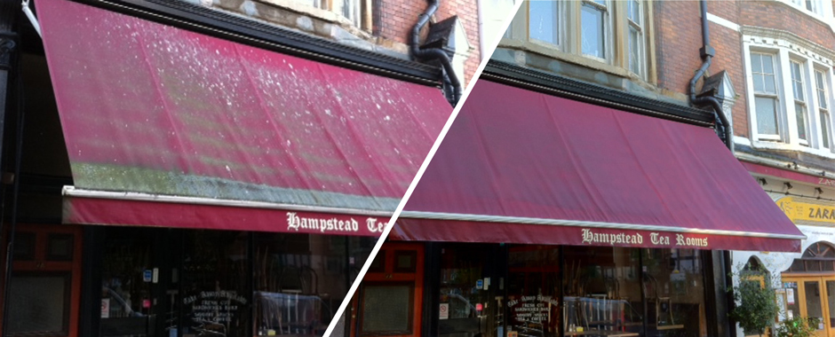Before Amp After See The Difference We Make To Your Awning