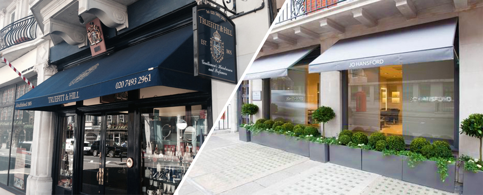A Fresh Awning Outside Means Stylish Salon Inside We Maintain The Look Of Leading Hairdressers And Beauty Salons In London