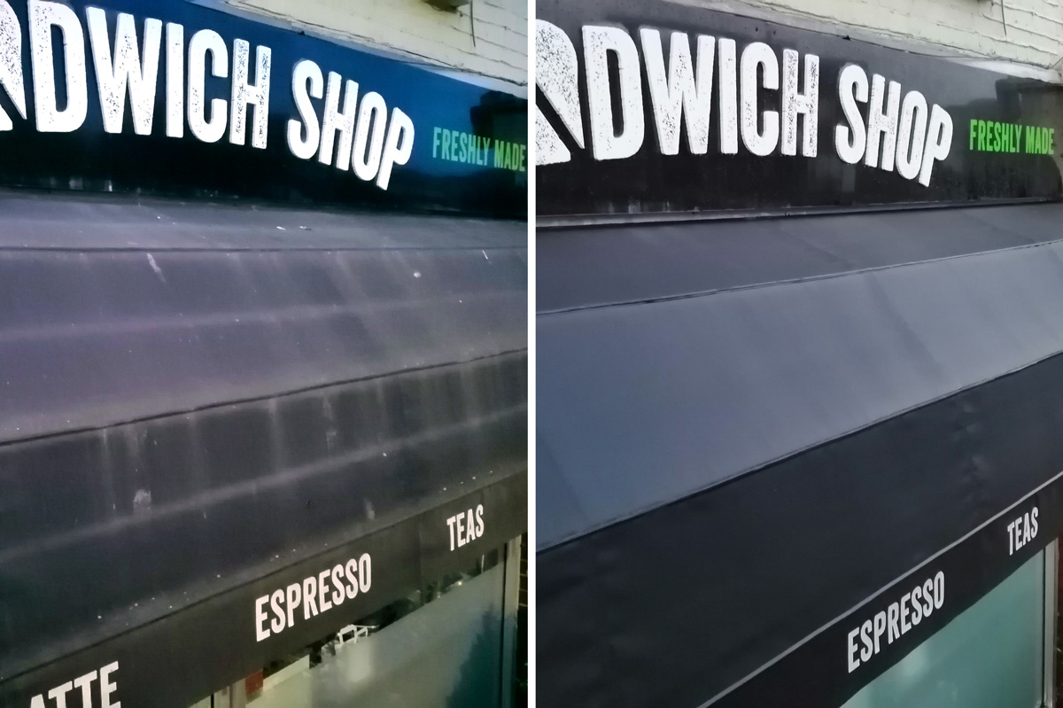Sandwich Shop Awning Calabash D This Morning See The